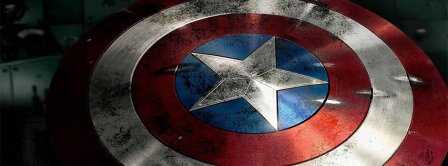 Captain America Shield  Facebook Covers