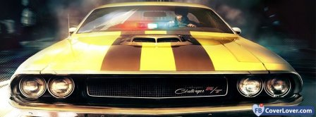 Dodge Challenger R/T  Facebook Covers