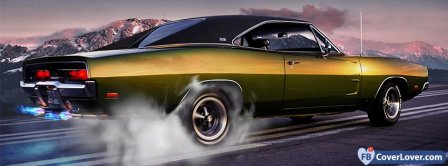 Chevrolet Chevelle Smoking Facebook Covers
