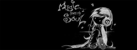 Music Saves My Soul Facebook Covers