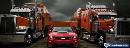 Ford Mustang And American Trucks Facebook Covers