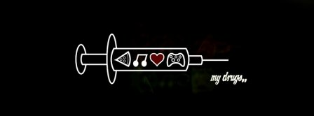 My Drugs Facebook Covers