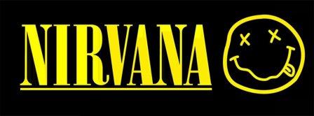 Nirvana Yellow Funny Logo Facebook Covers