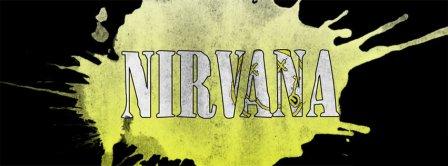 Nirvana Yellow Splash  Facebook Covers