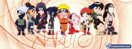 Naruto 3  Facebook Covers