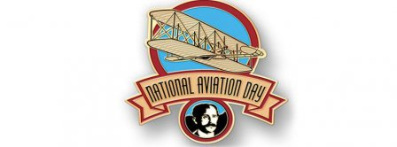 National Aviation Day Badge Facebook Covers