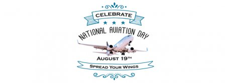 National Aviation Day Spread Your Wings Facebook Covers