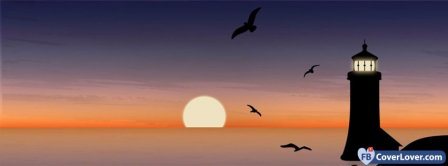 Nature Scenic Sunset Facebook Covers