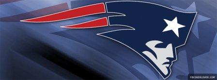 New England Patriots NFL Logo Facebook Covers