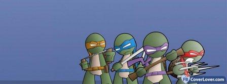 Ninja Turtles Cartoon  Facebook Covers