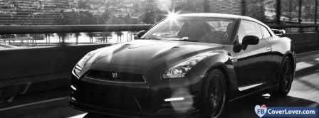 Nissan GTR Facebook Covers