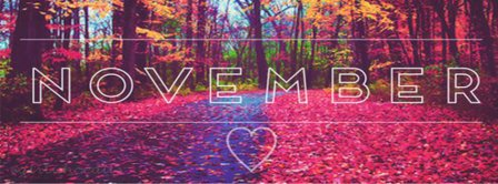 November Love Facebook Covers