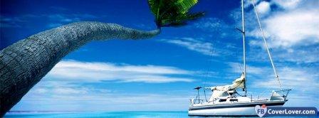 Paradise Island 1 Facebook Covers