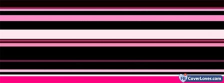 Pink Stripes Pattern  Facebook Covers