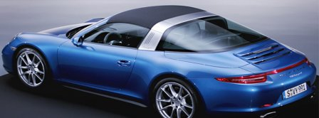 Porsche 911 Targa   Facebook Covers