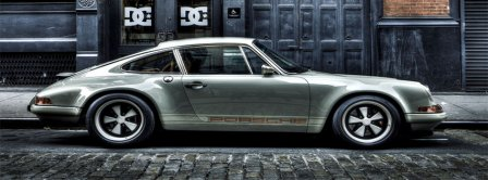 Porsche Singer MG Facebook Covers