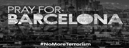 Pray For Barcelona Facebook Covers