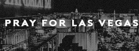Pray For Vegas Black And White Facebook Covers