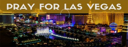 Pray For Vegas Facebook Covers
