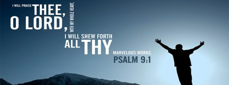 Psalm 9 1 Facebook Covers