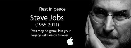 Rest In Peace Rip Steve Jobs Facebook Covers
