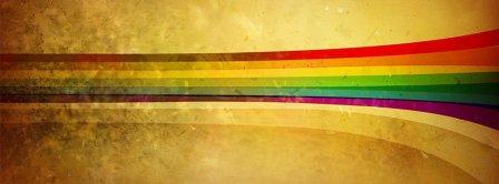 Retro Stripes Facebook Covers