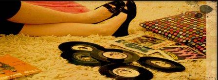 Retro Vinyl Records Facebook Covers