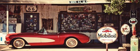 Corvette Route 66  Facebook Covers