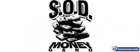 SOD Money Gang Facebook Covers