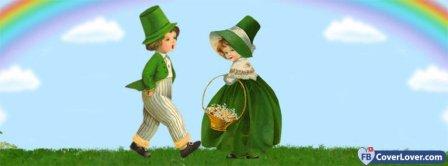 Saint Patrick 4 Facebook Covers