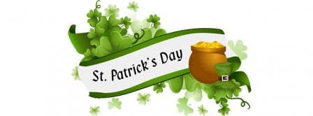 Saint Patricks Day Banner Facebook Covers