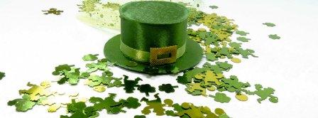 Saint Patricks Day Hat Facebook Covers