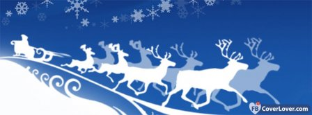 Santas Sleigh Wight  Facebook Covers