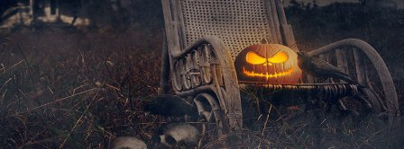Scary Halloween Pumpkin Facebook Covers