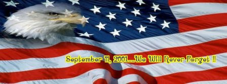 September 11 2001 We Will Never Forget Facebook Covers