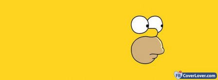 Homer Simpson Face Facebook Covers