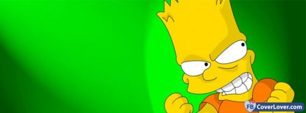 Bart Simpson 2 Facebook Covers