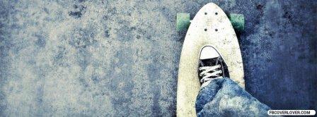 Riding A Skateboard Facebook Covers