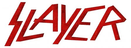 Slayer Red Logo Facebook Covers