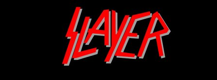 Slayer Red And Black Logo Facebook Covers