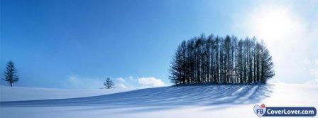 Snow Landscape 2 Facebook Covers
