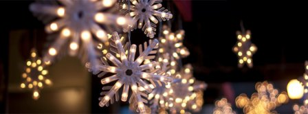 Snowflakes Lights Facebook Covers