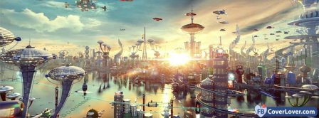 Spaceworld Landscape Facebook Covers