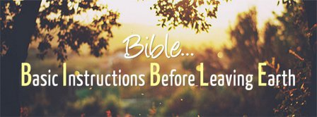 Bible Spelling Facebook Covers