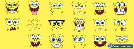 Spongebob 4  Facebook Covers