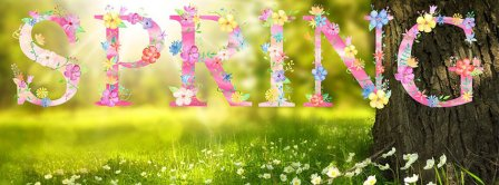 Spring Facebook Covers