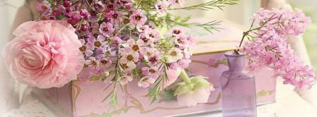 Spring Flowers Setup Facebook Covers