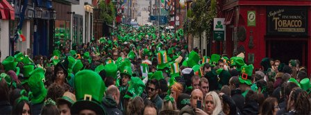 St Patricks Day Crowd Facebook Covers