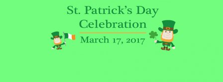 St Patrick's Day Celebration Day 2017 Facebook Covers
