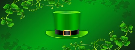 St Patricks Day Hat  Facebook Covers